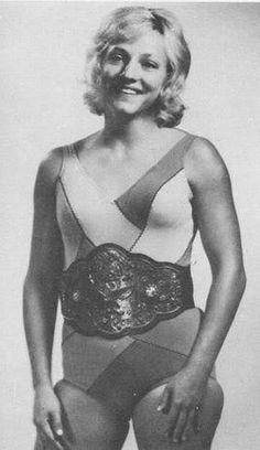 Old School Female Pro Wrestler Vicki Williams