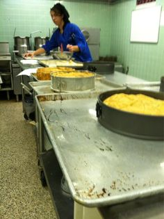 Prepping Tourte Milanese & Vanilla #Scones for a catering #breakfast tomorrow in #ProStart lab