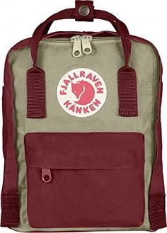 Fjallraven Kanken Mini Daypack, Ox Red/Putty Fjallraven