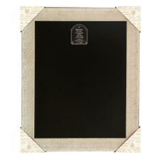 "Decorative Wood Framed Chalkboard 22"" x 28"" (Aged White) Home Office Collection.   Click on Image for more information."
