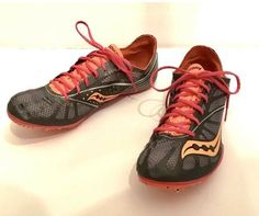 5470b06d8c1 Athletic Shoes · Saucony Spitfire 2 Women s Size 9.5 Track Field Running  Cleats Spike  fashion  clothing
