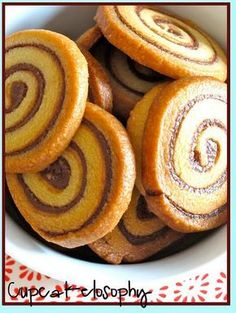 Cupcakelosophy: Espirales de Nutella!!