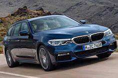 BMW Série 5 Touring será mostrada em Genebra. Veja as fotos