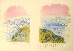 Patrick Procktor - Mount Abu