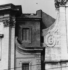 Francesco Borromini. Facade, Oratorio dei Filippini