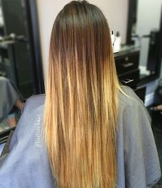 Ombre straight hair is a beautiful way to showcase your hair color without a ton of effort and upkeep. With a good colorist and a reliable flat iron, you can pull off this look no matter what your hair type is. Ombre Straight Hair With straight hair it's important to show the smooth fade or …
