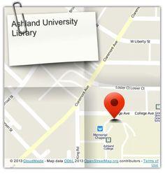 Ashland University, Video Tutorials, Second Floor