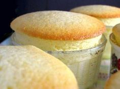 Individual Meyer Lemon Pudding Cakes - An easy and satisfying cake. these look so delicious! Just need to figure out how to make then GF now. Brownie Desserts, Mini Desserts, Lemon Desserts, Just Desserts, Lemon Cakes, Trifle Desserts, Plated Desserts, Baking Recipes, Cake Recipes