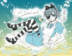 ciel in wonderland | Ciel in Wonderland - Lolly4me2 Fan Art (17880858) - Fanpop fanclubs