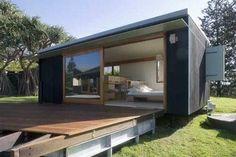 hermosa casa moderna realizada en un contenedor