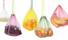 Znovupoužitelný sáček na ovoce Frusack jde na trh