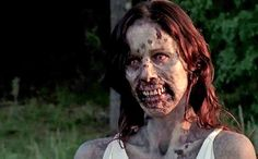 A deleted scene for the tenth episode of season 3 of The Walking Dead, Home, shows the return of Lori Grimes (Sarah Wayne Callies) as a zombie. In the episode, Rick (Andrew Lincoln), starts seeing . Walking Dead Zombies, Walking Dead Season, The Walking Dead Saison, Fear The Walking Dead, Zombie Survival, From Dusk Till Down, Evil Dead, Sarah Wayne Callies, Stuff And Thangs