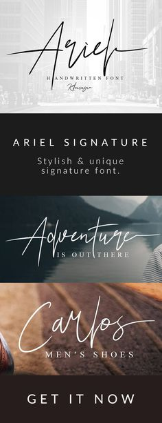 Handmade style font