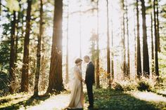 Portland forest elopement  | Dylan and Sara