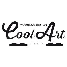 Nuovo logo Cool Art, arredi modulari, portabottiglie vino, librerie design modulari