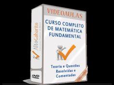 Curso Matemática para Iniciantes Vídeo Aulas Nível Fundamental