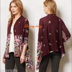 Anthropologie Sparrow Long Cardigan Anthropologie Sparrow cardigan. Fabulous shape - like new! Anthropologie Sweaters Cardigans