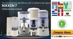 Filtro de Agua Alcalina Nikken Latino America 2020 Costa Rica, America, Drinking Water, Yellow Pages, Water Benefits, Water Filter, Palmyra, Usa