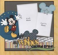 KIT CLUB ONLY Wishes Came True #scrapbookideas