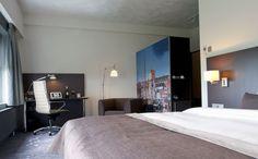 Een van de executive kamers van het Hampshire Hotel - Groningen Plaza.