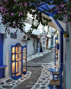 33 ideas travel greece mykonos greek islands for 2019 The Places Youll Go, Places To Go, Wonderful Places, Beautiful Places, Skiathos Island, Greek Blue, Beautiful Streets, Europe Photos, Greece Travel