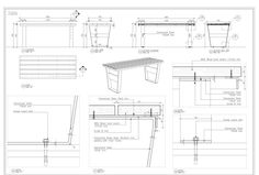 furniture sketch Do furniture, millwork, joinery, cabinet shop drawing by cad by Millwork_draft Teak Furniture, Types Of Furniture, Furniture Plans, Furniture Makeover, Furniture Design, Furniture Logo, Furniture Layout, Furniture Removal, Refurbished Furniture