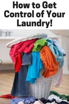 3 tips that will totally overhaul the way you do laundry and help you gain control over the hamper! Great ideas!
