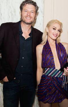 GWEN STEFANI - Gwen Stefani & Blake Shelton at the UCLA Visionary...