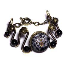 Steampunk JEWELRY | Steampunk Jewelry - Spider- Bracelet | Flickr - Photo Sharing!