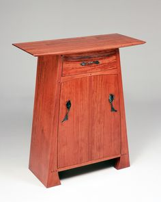 Bubinga Cabinet