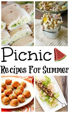 15 Delicious Picnic Recipes for Summer http://www.lifeofasouthernmom.com/15-delicious-picnic-recipes-summer.html #picnic #picnicrecipes #easyrecipes