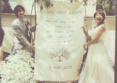 自由なスタイルで夫婦の愛を誓う♡人前式で行なう≪結婚証明書≫の可愛いデザイン12選*のトップ画像