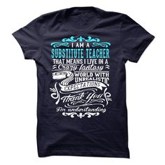 I Am A Substitute Teacher T-Shirts, Hoodies. BUY IT NOW ==► Funny Tee Shirts