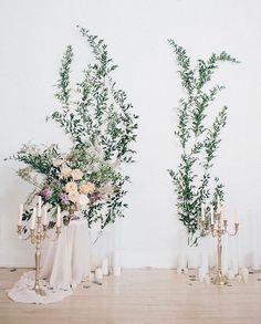 Floral Wall | L'Abeille Fleuriste Design | Sanela Osmanagic | Sherbrooke | Quebec