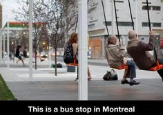 Bus Stop In Canada - LOVE IT ! WTF fun facts <- I live in Canada and I think that it's elswhere than where I live because I would spend all of my Sundays at a bus stop then! Crazy Funny, Laval, Of Montreal, Montreal Canada, Thinking Day, Wtf Fun Facts, Random Facts, Odd Facts, Crazy Facts