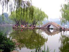 The Zizhuyuan Park in Beijing, China.