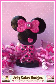 Glamour Girl Minnie Mouse Keepsake Cake by jellycakesdesigns, $22.00