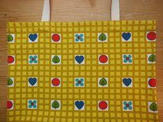 Einkaufstaschen - Shopper 70er Stoff☻ - ein Designerstück von Traum-Taschen bei DaWanda