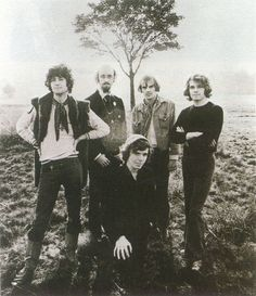 This rare picture of Hammill, Smith, Evans, Ellis, and Banton appeared in the February 10th, 2001 edition of the Dutch magazine OOR, and must have been taken in the Autumn of 1968.