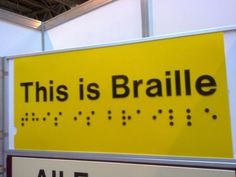 Do you know if your #business is #ADA compliant or if you need #braille signage? Stop wondering and find out for sure here...