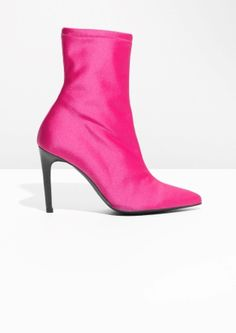 & Other Stories   Neon Sock Boots