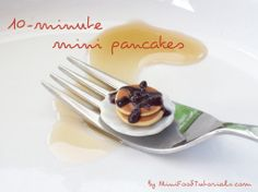 How to make #miniature pancakes out of #polymer #clay!