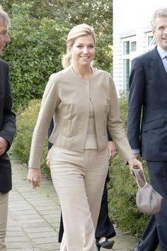 Prinses Maxima bezoekt ROC Amersfoort, 15 september
