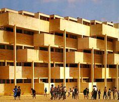 Habitat Marocain, Sidi Othman - Casablanca (1954) André M.Studer, Jean Hentsch Kaynak: