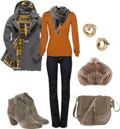 """Fall Winter Outfit"" by natihasi on Polyvore"