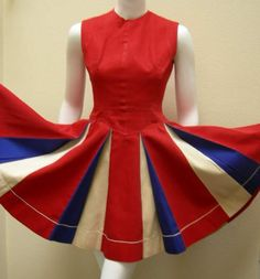 Cheerleader Uniform 50s