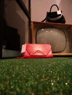 Handbags on the TV