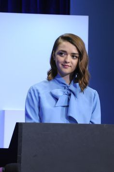 Maisie Williams is our girl power hero—she talks all about the empowering #likeagirl campaign and viral video