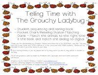 Thursday: Grouchy Ladybug Freebie