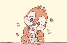 漫画ディズニー, チップとデール, ディズニーファンアート, カワイイもの, ディズニーの夢, ディズニーのキャラクター, チップ, ミニー, 漫画